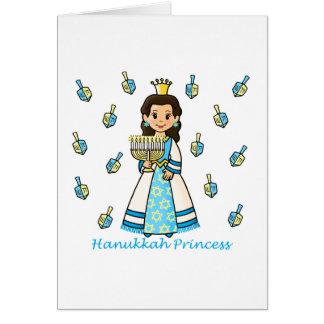 Princesa de Jánuca Tarjeta De Felicitación