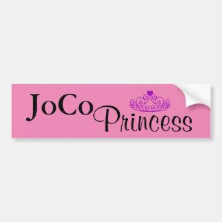 Princesa de JoCo en rosa Pegatina Para Auto