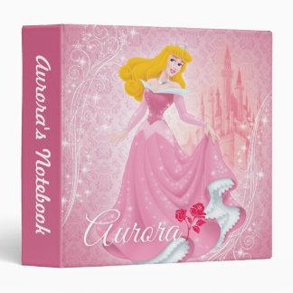 """Princesa de la aurora carpeta 1 1/2"""""""