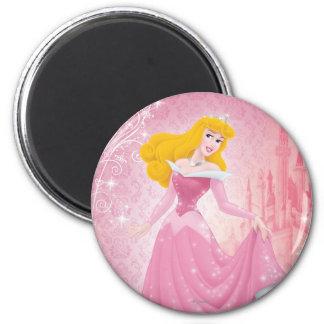 Princesa de la aurora iman para frigorífico