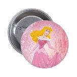 Princesa de la aurora pin redondo 5 cm