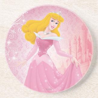 Princesa de la aurora posavasos manualidades
