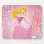 Princesa de la aurora tapete de raton