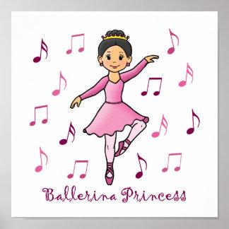 Princesa de la bailarina impresiones
