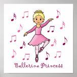 Princesa de la bailarina posters