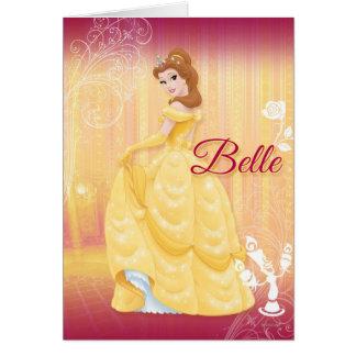 Princesa de la belleza tarjeta