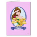 Princesa de la belleza tarjeta de felicitación