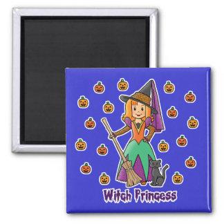 Princesa de la bruja imán para frigorifico