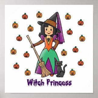 Princesa de la bruja póster