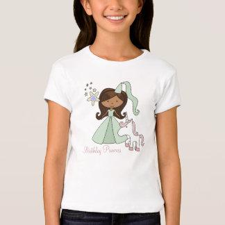 Princesa de la camiseta del afroamericano del