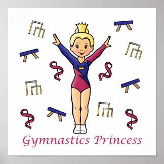 Princesa de la gimnasia impresiones