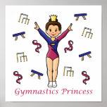 Princesa de la gimnasia poster
