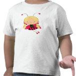 Princesa de la hada de la mariquita camiseta