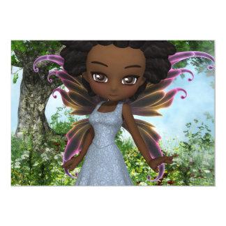 """Princesa de la hada de Lil Invitación 5"""" X 7"""""""