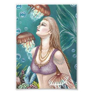 Princesa de la impresión de la foto del mar fotografía