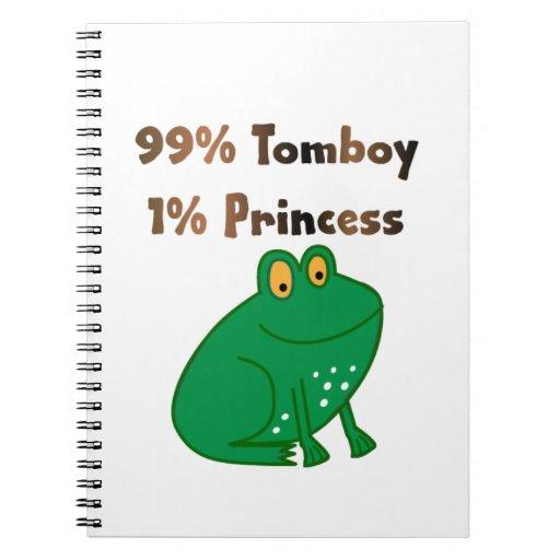 Princesa de la marimacho el 1% del 99% libreta espiral
