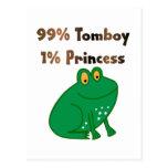 Princesa de la marimacho el 1% del 99% postales