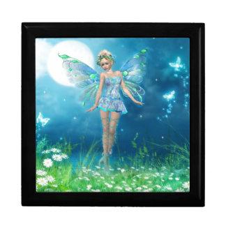 Princesa de la mariposa cajas de recuerdo