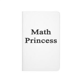 Princesa de la matemáticas cuaderno