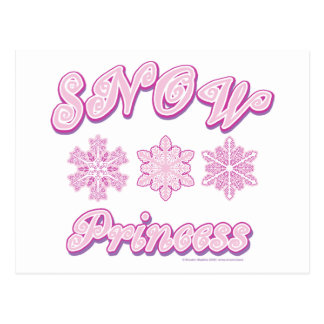 Princesa de la nieve postales