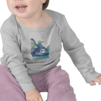 princesa de la noche del dragón camiseta