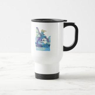 princesa de la noche del dragón tazas de café