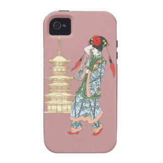 Princesa de la pagoda vibe iPhone 4 carcasa