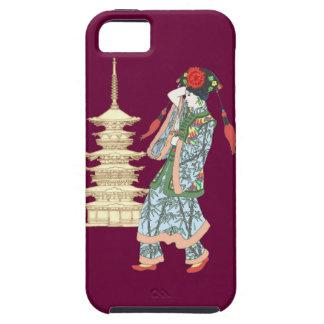 Princesa de la pagoda iPhone 5 cárcasas