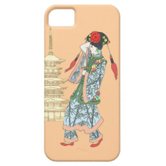 Princesa de la pagoda iPhone 5 Case-Mate cárcasa