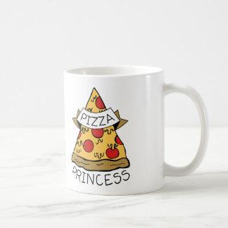 Princesa de la pizza taza clásica