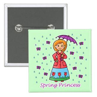 Princesa de la primavera pin