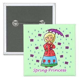 Princesa de la primavera pins