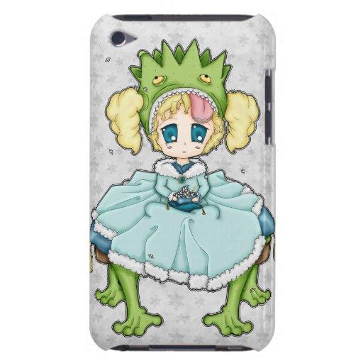 Princesa de la rana de Chibi iPod Case-Mate Cobertura