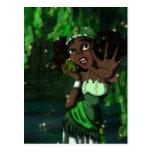 Princesa de la rana postal