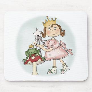 Princesa de la rana alfombrilla de raton