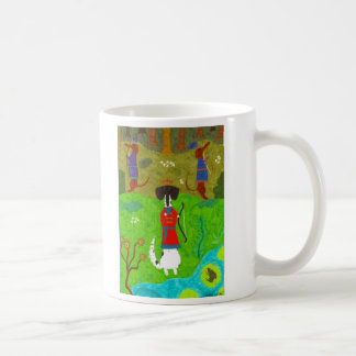 Princesa de la rana taza de café