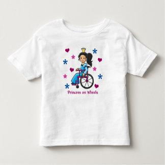 Princesa de la silla de ruedas playeras