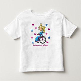 Princesa de la silla de ruedas polera