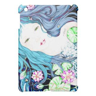 Princesa de la sirena en tonalidades azules