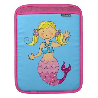 princesa de la sirena funda para iPads