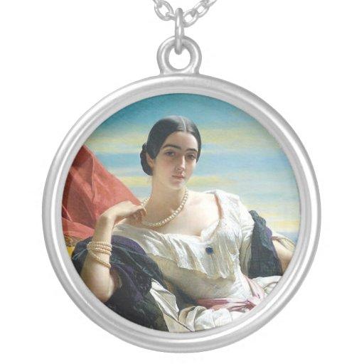 Princesa de Leonilla de Sayn Wittgenstein Colgante Redondo