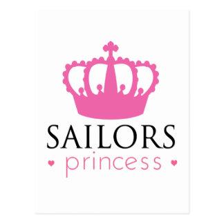 Princesa de los marineros postal