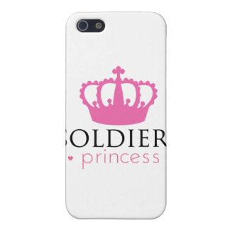 Princesa de los soldados iPhone 5 fundas