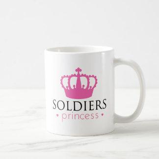 Princesa de los soldados taza clásica