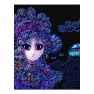 Princesa de marfil Fantasy Flyer Personalizado