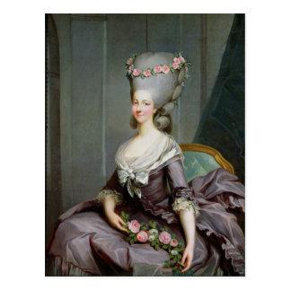 Princesa de Marie-Teresa de Saboya-Carignan Postales