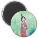 Princesa de Mulan Imán Para Frigorífico