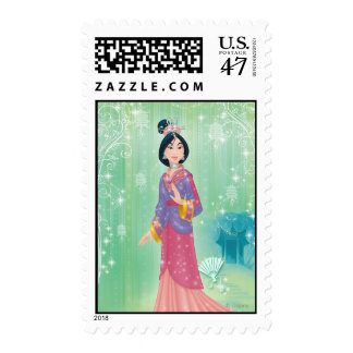 Princesa de Mulan Timbre Postal