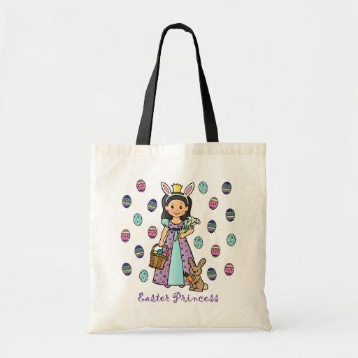 Princesa de Pascua Bolsa Lienzo
