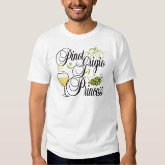 Princesa de Pinot Grigio Remera